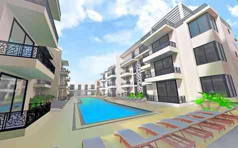 Luxury three bedroom penthouse on the popular Long Beach coastline