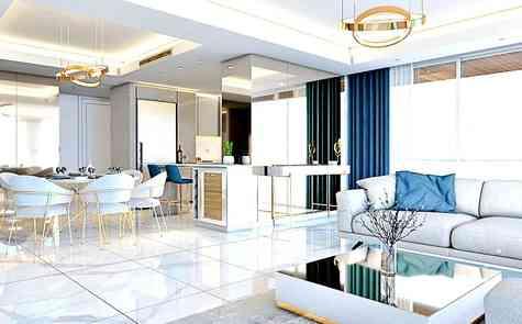 1 + 1 apartments in a modern complex, near Long Beach