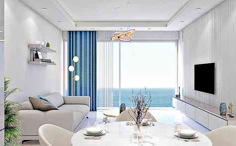 Two-bedroom apartments in a luxury complex on the sea - uninterrupted panoramas!