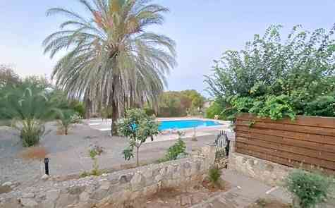 Cozy three bedroom villa on the outskirts of Bellapais with communal pool