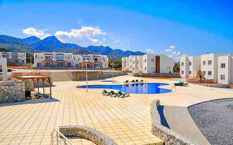 3+1 apartment in Sea Terra reserve, for sale with the furniture