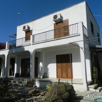 Villa with 10035sq.m Turkish Title Deeds in Camlibel