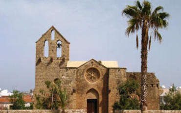 The first church service in Famagusta in the last 57 years filmed by National Geographic