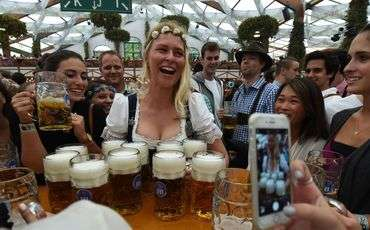 Oktoberfest in North Cyprus - the doors of the festival are open to everyone.